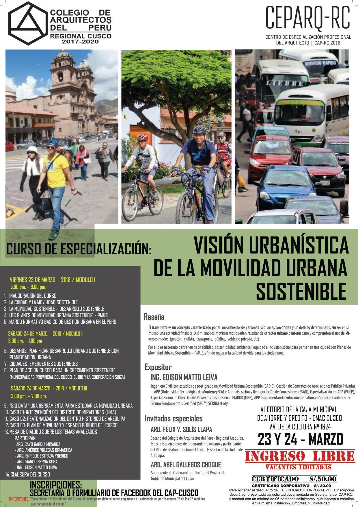 Listado de Arquitectos - Colegio de Arquitectos Cusco